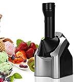 Máquina de sorbete de frutas del fabricante eléctrico, fabricante de postres congelado, fabricante de frutas suaves, la trituradora hace 2 cuartos en minutos, ideal para hacer sherbet de sirves suaves