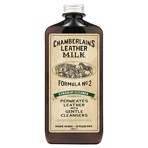 Leather Milk Leather Cleaner - Straight Cleaner...