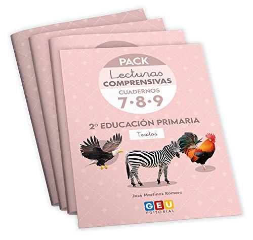 Pack Lecturas Comprensivas 2º Educación Primaria: Mejora Comprensión Lectora. Editorial GEU