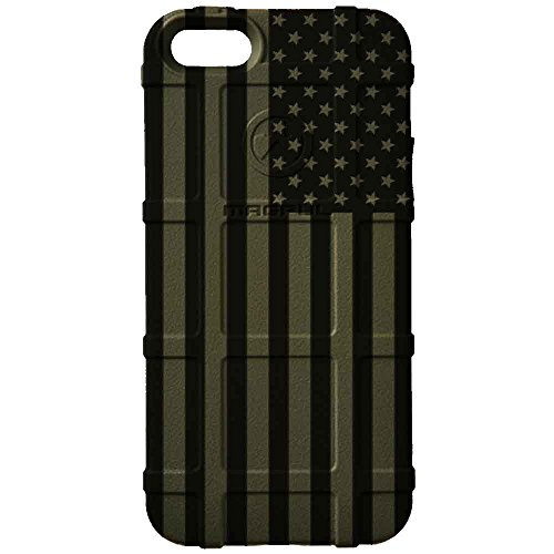 Limited Edition - Authentic Made in U.S.A. Magpul Industries Field Case for Apple iPhone 6/ iPhone 6s (Standard 4.7' Size) (OD Green Subdued US Flag)