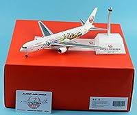"JC Wings 1:200 EW2763001 JAL Japan Airlines 飛行機 ""35th Happiest Celebration"" ボーイング 767-300ER ダイキャスト航空機モデル Reg#JA612J"