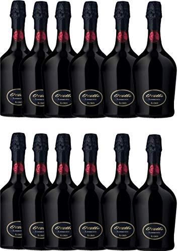 Vino Rosso Frizzante 12 bott. da 0,75 l. Otello 200 Lambrusco Emilia IGT - Cantina Ceci