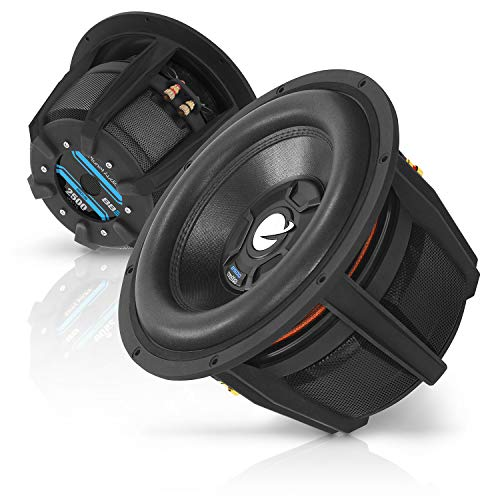 Planet Audio BBD12B 12 Inch Car Subwoofer - 2500 Watts Maximum Power, Dual 4 Ohm Voice Coil, Sold Individually, Black