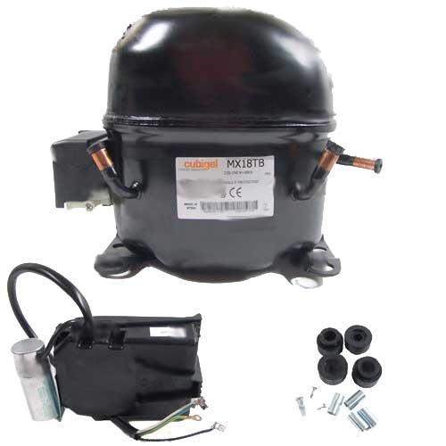 Compressore ermetico ACC ZEM Cubigel Huayi Electrolux MX18TB
