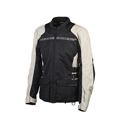 ScorpionExo XDR Yuma Men's Textile Adventure Touring Motorcycle Jacket (Sand)