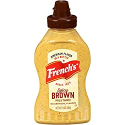 French's Spicy Brown Deli Mustard, 12 oz, Spicy Mustard