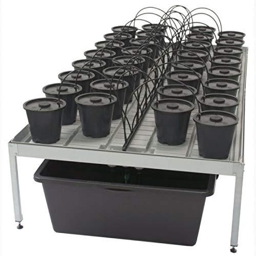 Table de culture Aero Grow Dansk XL noir/gris