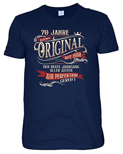 Geschenk zum 70. Shirt Leiberl 70 Geburtstag T-Shirt 70 Jahre Alles noch original seit 1950 Geburtstagsgeschenk
