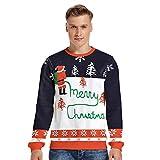 KCatsy Mujer Plus Size Oversize Men Sudadera Navidad Navideño Navidad Calcetín 3D Sombrero Animal Copo de Nieve Imprimir Divertido Disfraz Fiesta Top(KK-Blanco,3XL)