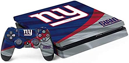 Skinit Decal Gaming Skin for PS4 Slim Bundle - Officially Licensed NFL New York Giants Design