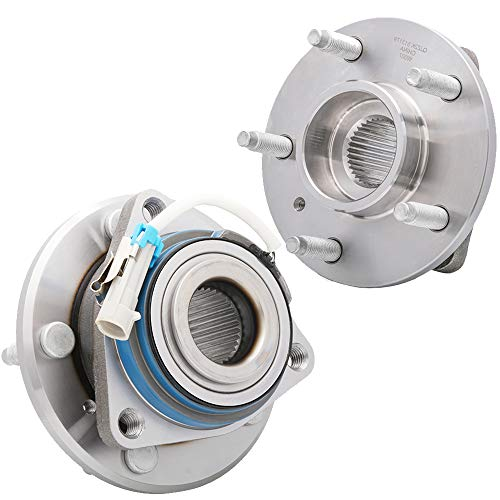 [2-Pack] 513179 - FRONT Left and Right Side Wheel Hub Bearing Assembly for [4-Wheel ABS Models ONLY] Buick, Cadillac, Chevrolet, Oldsmobile, Pontiac, Saturn [Please See Description for More Details]