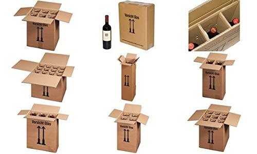 smartboxpro Flaschen-Versandkarton