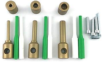 Tashido 7/11/14 mm reparatiegereedschap voor hydraulische installaties van kunststof in PPR-accessoires voor gereedschap v...
