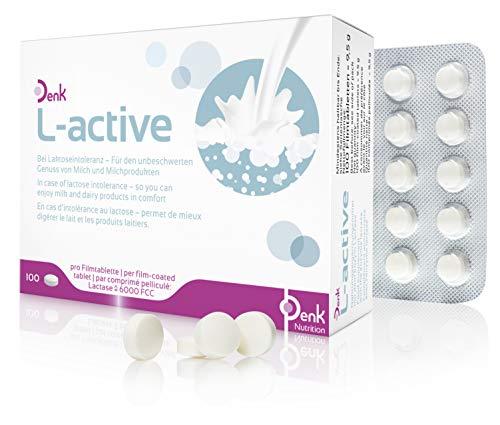 l-active Denk - Tabletten bei Laktoseintoleranz - 100 Stück