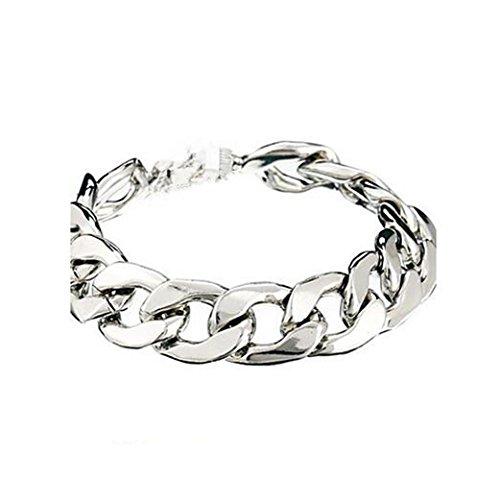 GYJUN Chaîne en alliage de forme vintage simple chaîne& lien bracelet (1 pc) bijoux, one size