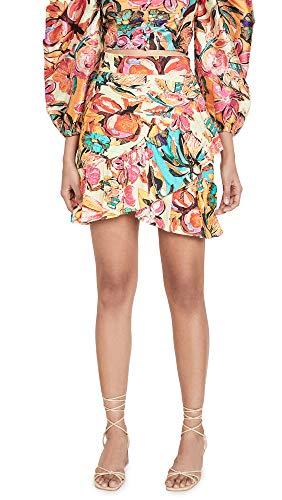 Hemant and Nandita Women's Aroha Skirt, Multi, Small