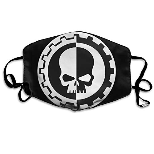 ghjkuyt412 Mouth Cover Face Cover Warhammer 40k Adeptus Mechanicus Washable Mouth Cover Reusable Mouth Scarf Face Scarf for Kids Adults