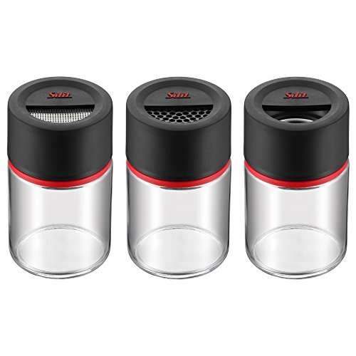 Silit Storio 22630711 Spice/Condiment Shakers [Set of 3] by Silit