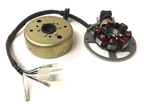 Lichtmaschine & Polrad komplett für CPI Keeway Generic Sachs ATU 50