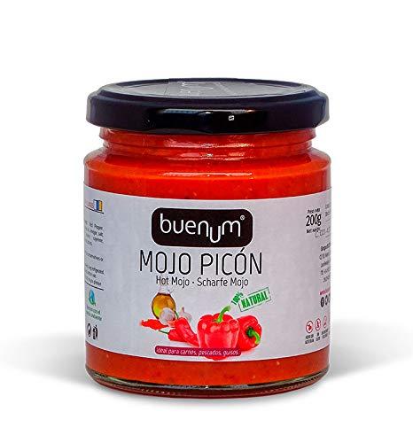 Rotes Mojo-Sauce würzig BUENUM 200 gr. Kanarische Produkte