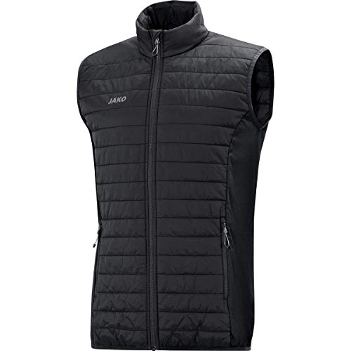 JAKO Herren Steppweste Premium Sonstige Jacke, Schwarz, L