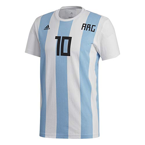 adidas Messi NN - Camiseta Argentina Messi, Hombre, Blanco(Blanco)