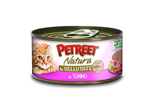 PETREET Vellutate Tonno - Confez. da 24 Pezzi x 70 gr