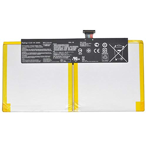 7XINbox 3.8V 30Wh C12N1435 Repuesto Batería para ASUS T100HA T100HA-FU006T 10.1-Inch 2 in 1 Touchscreen