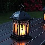 1. Festive Lights Solar Laterne