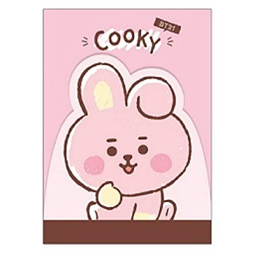 カミオジャパン BT21 ダイカットミニメモ COOKY LINE FRIENDS [017559]