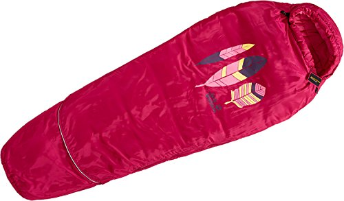 Jack Wolfskin Grow Up Kids Kinderschlafsack azalea red