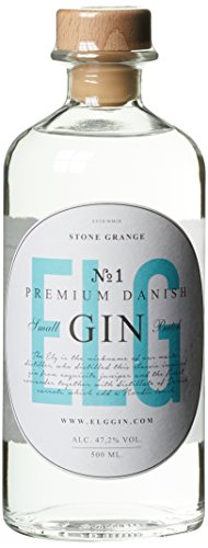 ELG Premium Danish Small Batch Gin No. 1 (1 x 0.5 l)