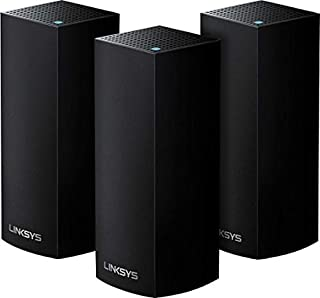 Linksys AC6600 Whole-Home Mesh Wi-Fi System Black Pack of 3 WHW0303B-ME