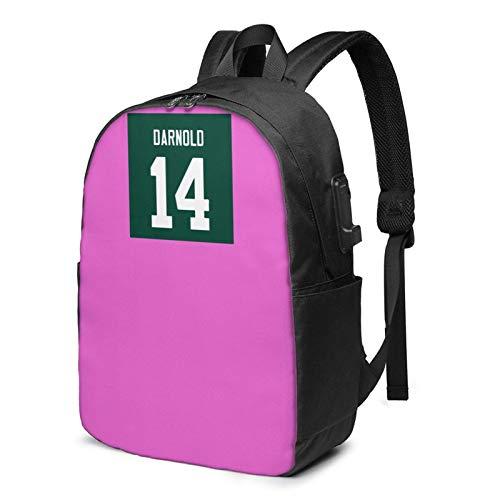 IUBBKI Bolsa para computadora mochila USB S-A-M D-A-Rn-Old 17 Inch Laptop Backpack For Men & Women,Travel/School Backpack With Usb Charging Port & Headphone Interface
