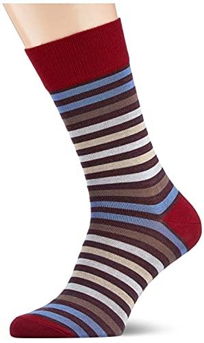 FALKE Herren Tinted Stripe M SO Socken, Lila (Ribes 8547), 43-46