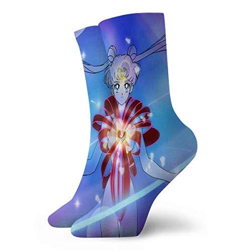 landianguangga Sailor Moon - Calcetines cortos casuales cómodos y neutros