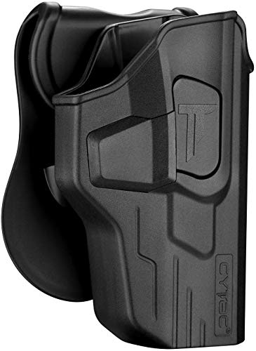 M&P 9mm Holsters, OWB Holster for S&W MP 9mm/.40 4.25' Full...