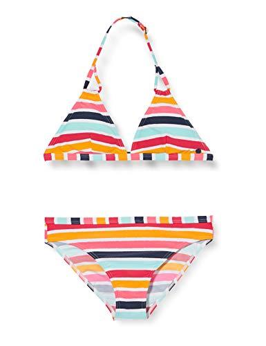 ESPRIT TREASURE BEACH YG halterneck+brief Bikini-Set, Mädchen, Gelb 152/158
