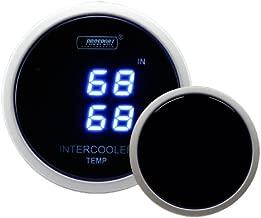 proSPORT Intercooler Air Temperature Gauge dual Digital Display In/out