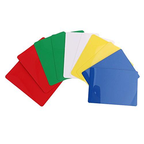 Sharplace 10er-Set Poker Cut Card -Multicolor