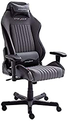 Robas Lund, DX Racer 7, gaming chair, desk chair, office chair, gray / black, 74 x 50 x 117-127 cm, 62507GS5