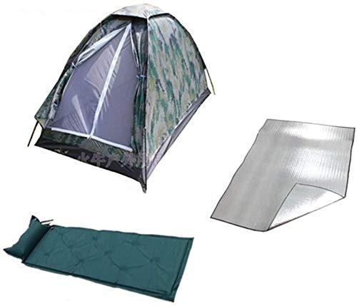 Outdoor-Camping-Trainings-Digital-Tarnung-Zelt, Im Freien Kampierende 2 Personen Automatische Wasserdichtes Zelt, Moisture Pad, Aufblasbares Kissen