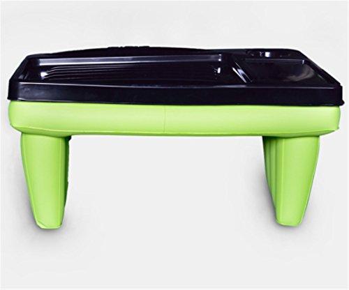 Yeying123 Aufblasbarer Tisch Mit Einfachem Hauptcomputer, Der Aufblasbare Tabelle Einfachen Hauptschreibtischnotizbuchlufttisch Faltet