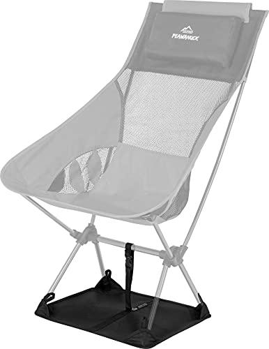 normani Bodenmatte verhindert Einsinken im Sand oder weichen Boden für Pewanuck Stuhl - Unentbehrliche Zubehör - Anwendbar für die meisten kompakten Klappstühle
