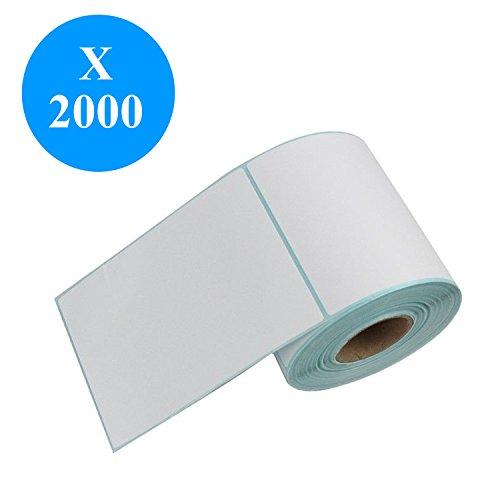 DynaSun 2000 Etichette Termiche Adesive 102x152mm Rotolo anima 25mm per Stampanti Zebra Citizen TSC