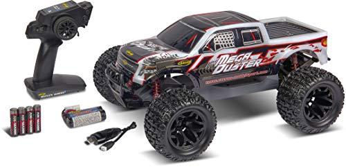 Carson 500404195 1:10 Mega Duster FE 2.4GHz 100% RTR, Ferngesteuertes Auto, Offroad Truggy, inkl. Batterien und Fernsteuerung, Bedruckte Karosserie