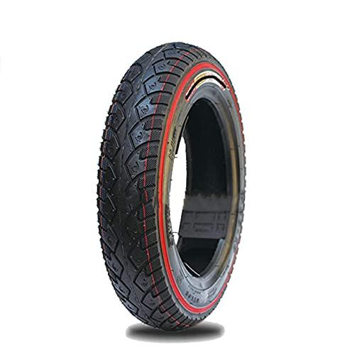 XXLYY Neumáticos de Scooter eléctrico, neumáticos de vacío Antideslizantes 3.00-10, Bordes de Color 6pr, neumáticos Resistentes al Desgaste, estables y cómodos, y transitabilidad