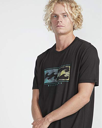 BILLABONG Inversed tee SS Camiseta, Negro (Black 19), X-Small (Tamaño del Fabricante:XS) para Hombre