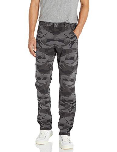 Amazon Brand - Goodthreads Men's Straight-Fit Carpenter Pant, Grey Camo 33W x 32L