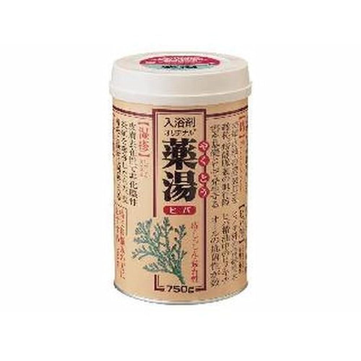 ミシンコインランドリー蓄積する【まとめ買い】NEWオリヂナル薬湯 ヒバ 750g ×2セット